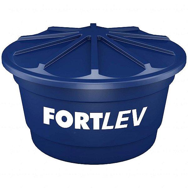 Caixa d'água com tampa 310 litros de polietileno - Fortlev