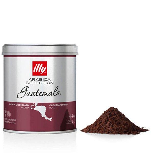 Café illy moído Arabica Selection Guatemala - 125g