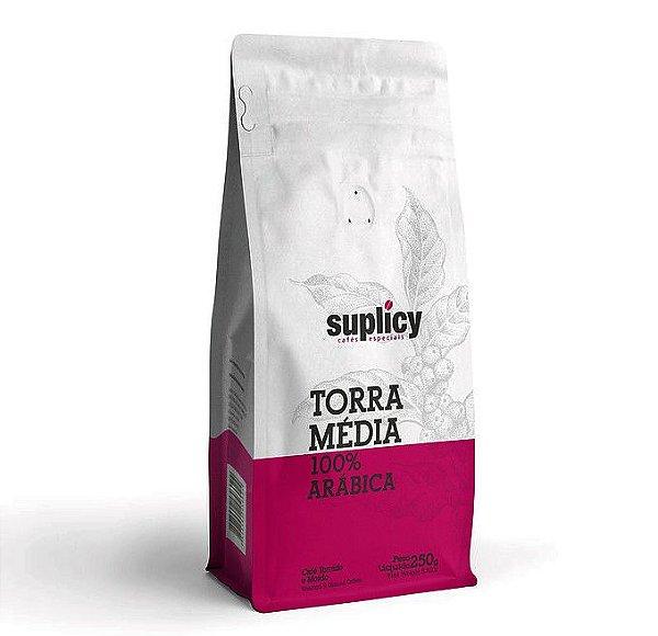 Café em Grãos Suplicy Torra Media - 250g