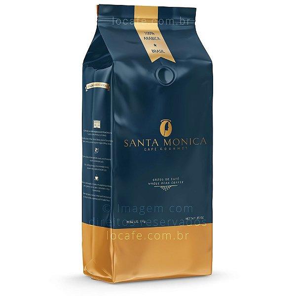 Café em Grãos Santa Monica Gourmet - 1kg