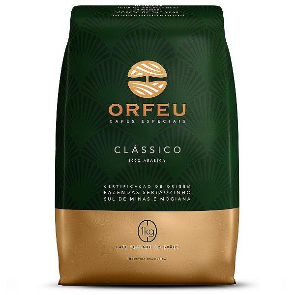 Café em Grãos Orfeu Clássico - 1Kg