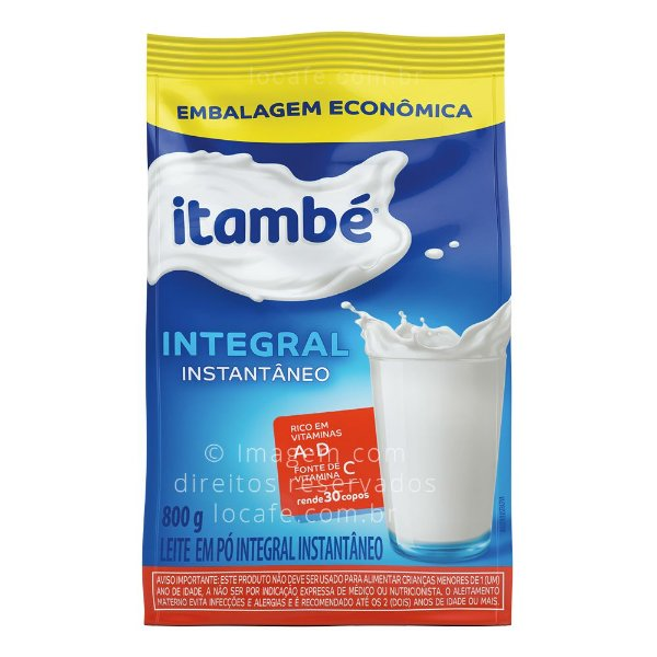Leite em Pó Integral Instantâneo Itambé - 800 g