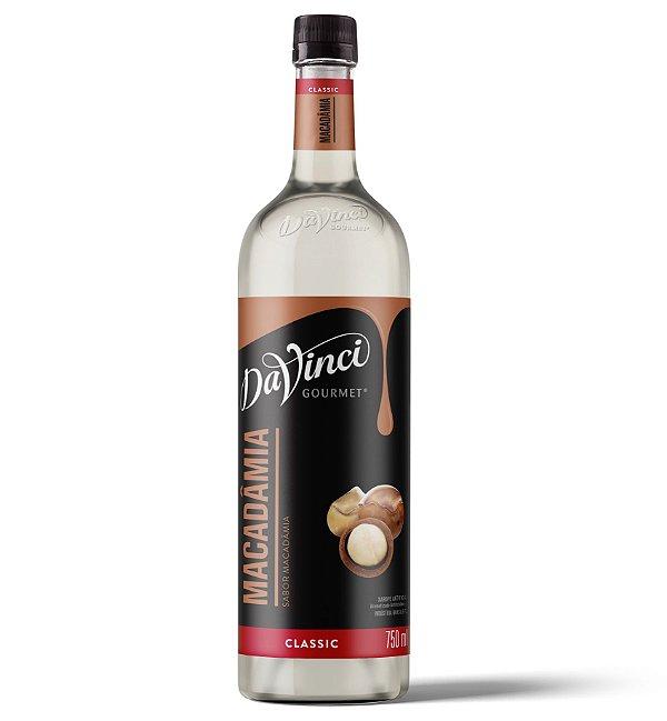 Xarope Davinci Gourmet Macadâmia – 750ml