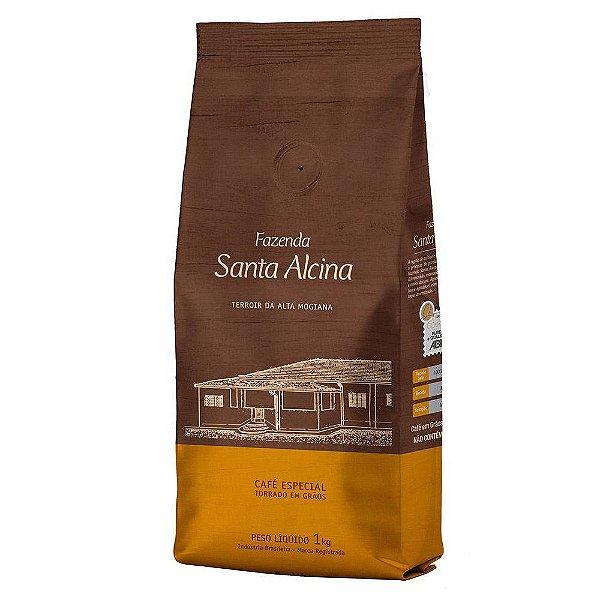 Café em Grãos Fazenda Santa Alcina - 1kg