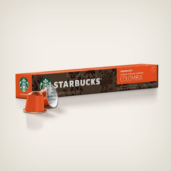 Café Starbucks® Single-Origin Colombia em Cápsulas - 10Ud