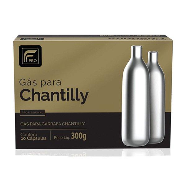 Cápsulas de gás para Chantilly N20 – FPRO - 10 unidades