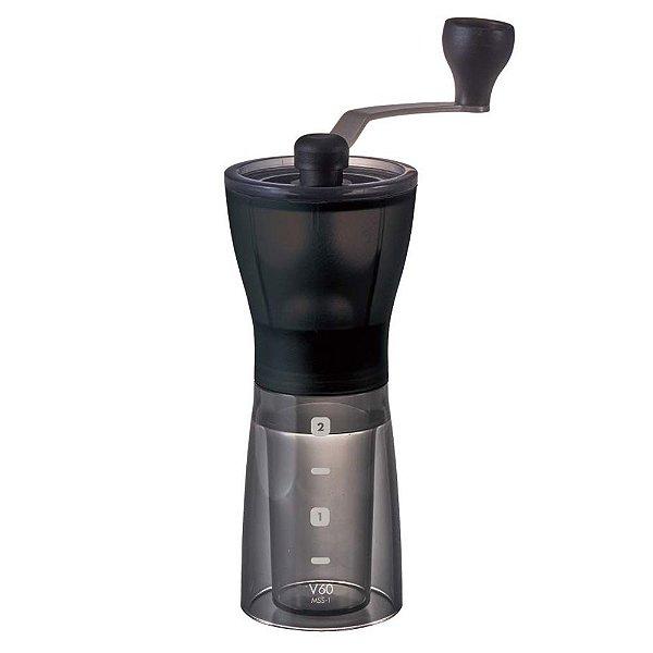 Moedor de Café Manual Hario Slim MSS-1DTB - 24g