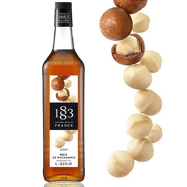 Xarope Routin 1883 Macadâmia (Macadamia Nut-Noix) – 1 litro