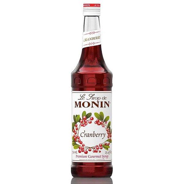 Xarope Monin Cranberry - 700ml