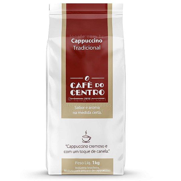 Cappuccino Solúvel Tradicional Café Do Centro - 1kg