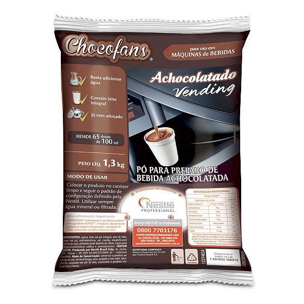 Achocolatado Vending Chocofans 1,3 Kg - Nestlé