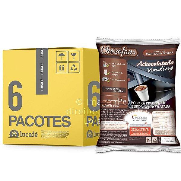 Achocolatado Vending Chocofans 7,8KG (6x1,3Kg) - Nestlé