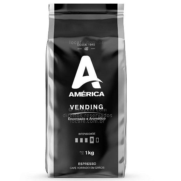 Café em Grãos América Vending 1kg - América
