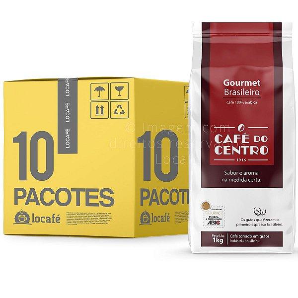 Café do Centro Gourmet Brasileiro - Grãos 10Kg (10x1Kg)