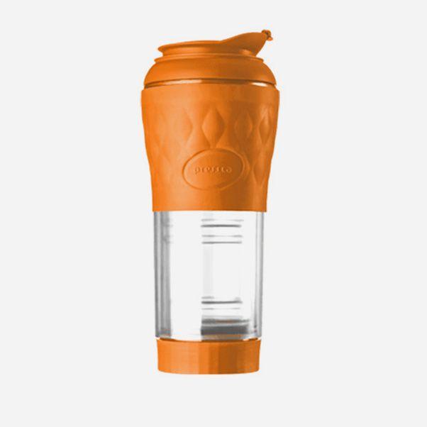 Cafeteira Pressca Laranja 350 ml