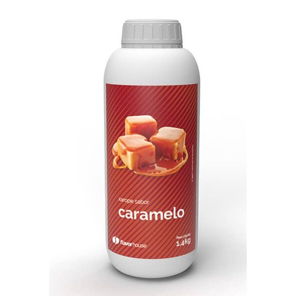 Xarope Artesanal Caramelo Flavor House