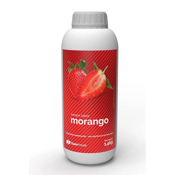 Xarope Artesanal Morango Flavor House