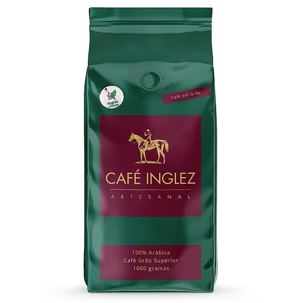 Café em Grãos Artesanal Inglez (Produtor: MARCELO E THEREZA SARTORI ) - 1Kg