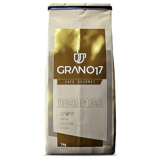 Café em Grãos Artesanal Grano17 Gourmet - 1Kg