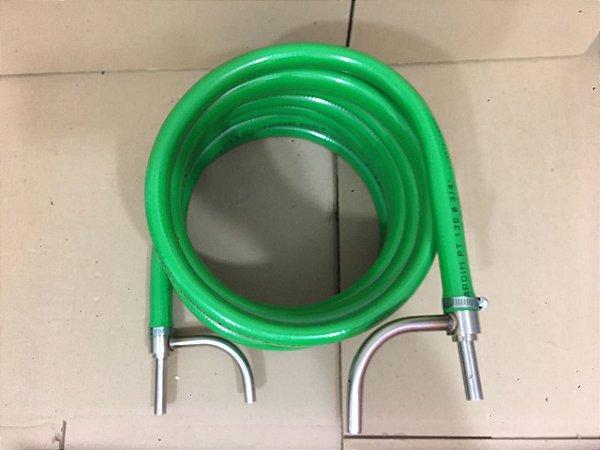 Chiller de contra fluxo com tubo em inox Brewmetal 6 METROS