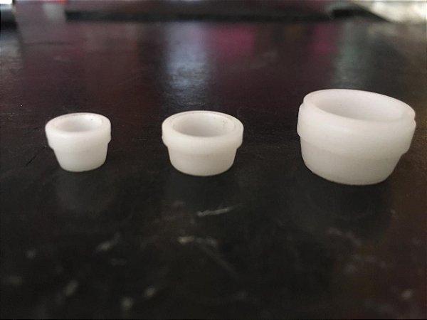 Anilhas nylon para conexões de compressão