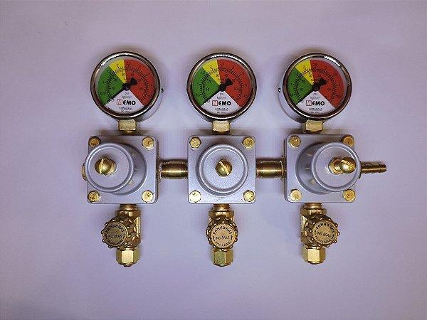 Regulador de pressão secundário de CO2