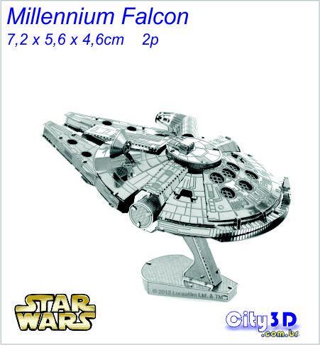 Millennium Falcon para montar