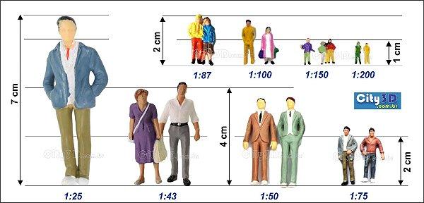 Figuras para Maquete - Colorida
