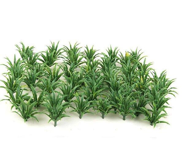 Plantas H= 2,0 Cm Arbusto Jardim Maquete Arquitetura Ax