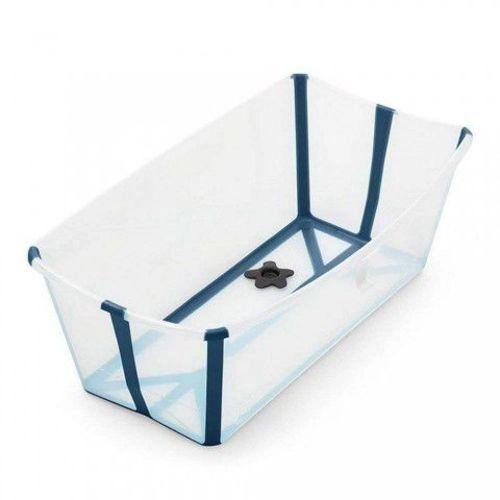 Banheira Stokke Azul com Plug Térmico
