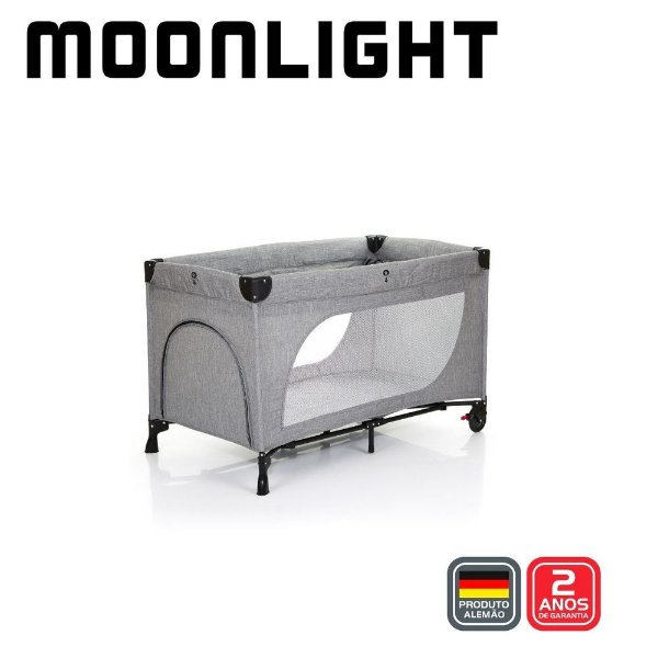 Berço Moonlight Set Woven Grey