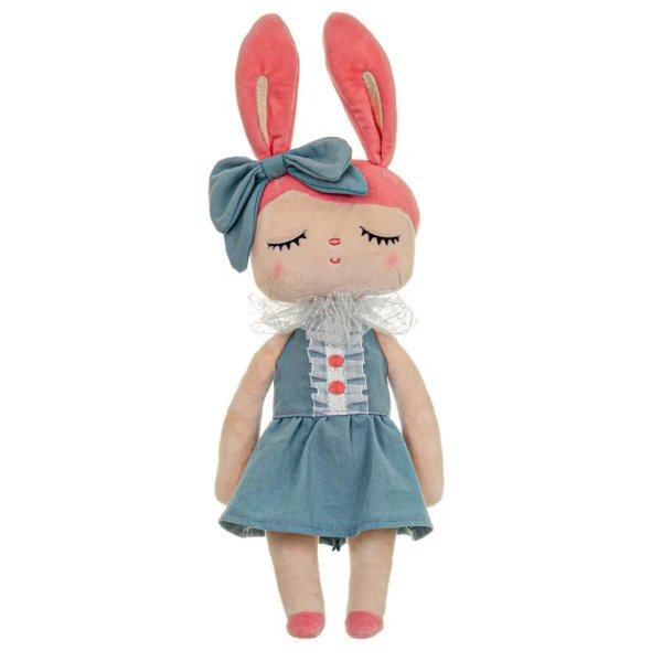 Boneca Angela Liz Azul Metoo 33cm