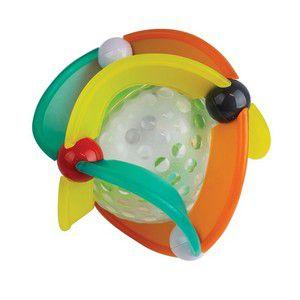 Brinquedo Interativo Bola com Luz e som Infantino