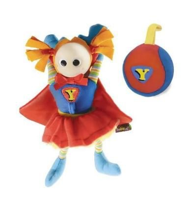 Brinquedo Super Baby Girl com Clip