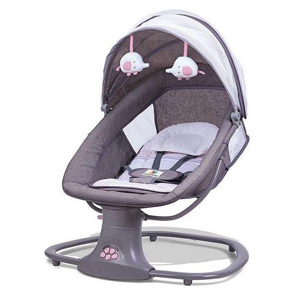 Cadeira Techno Automática com Bluetooth Rosa Mastela