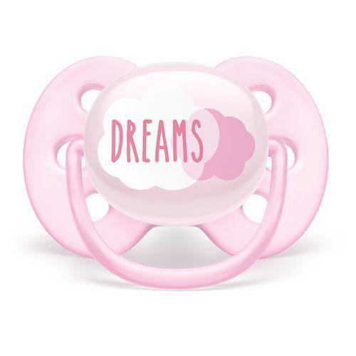 Chupeta Philips Avent Utra Soft Dreams 0 a 6 Meses
