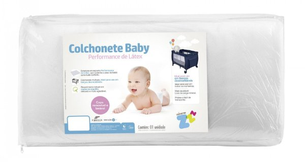 Colchonete Baby Fibrasca 65x90