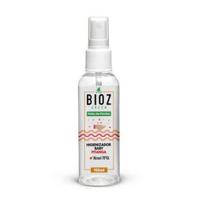 Higienizador Baby Pitanga Bioz Green 115ml