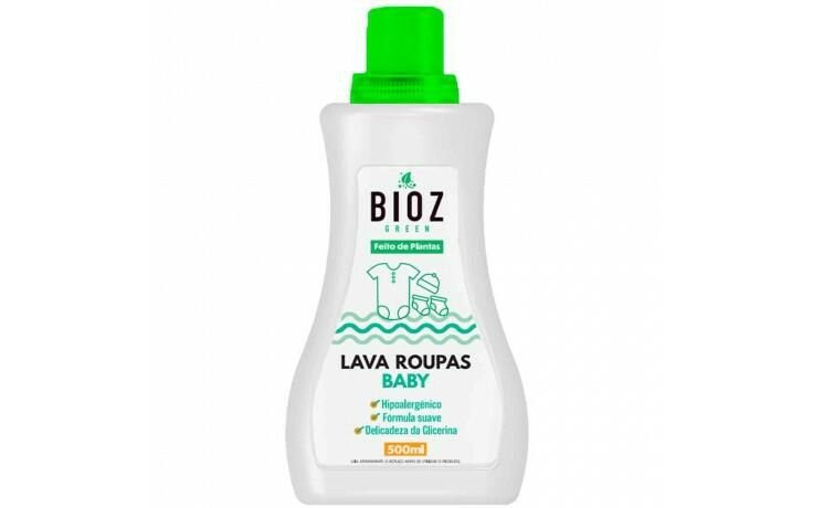Lava Roupas Baby Bioz Green 500ml