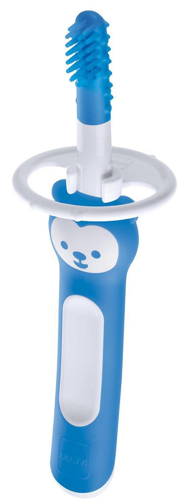 Massageador MAM Massaging Brush 3m+ Azul