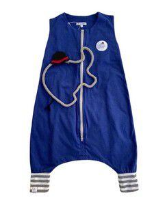 Saco de Dormir Infantil Malha Azul Bic Tamanho 1:
