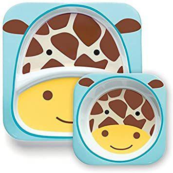 Set de pratos Skip Hop Zoo Girafa