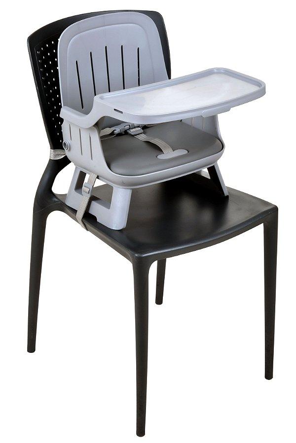 Cadeira de alimentação Kiwi Burigotto Cinza