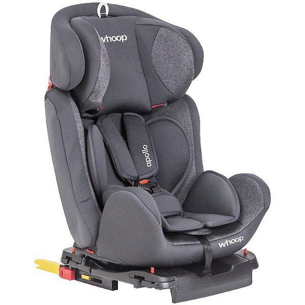 Cadeira Auto Apollo com Isofix Grafite (0-36kg)