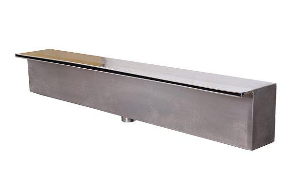 Cascata de embutir em Aço Inox Lamina curta de 300cm