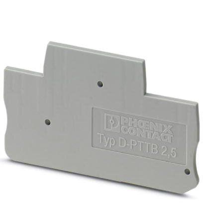 D-PTTB 2,5 TAMPA TERMINAL PARA BORNE CONECTOR DE PASSAGEM 3211634 PHOENIX CONTACT