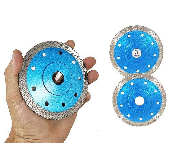 Kit 3 Disco Para Porcelanato RINO o melhor disco para cortar porcelanato acabamento Perfeito ultra fino - Felsen