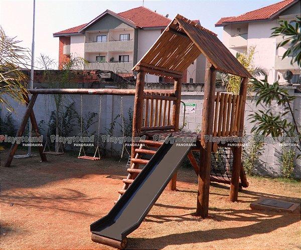 Playground ecológico Casinha do Tarzan / Condomínio Parque Sinfonia