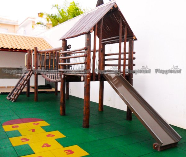 Playground Mini Centro de atividades / Condomínio D'ampezzo