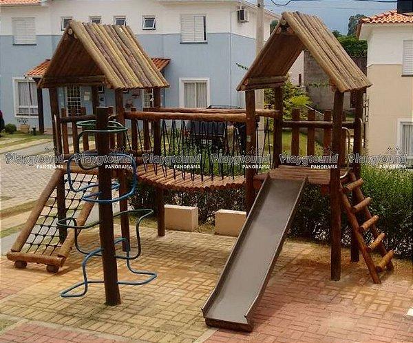 Casinha do Tarzan Projeto especial Condomínio Tulipas Villa Flora